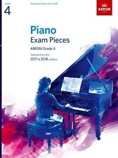 ABRSM Piano Exam Pieces Book Only 2017 - 2018, Grade 4 - Same Day P+P