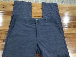 Linksoul Performance Golf ⛳ Pants Men's 36x32 Modern Fit Gray Lightweight