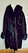 Women Beaver fur coat with hood