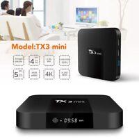 TX3 Mini Smart TV Box Android 7.1 Amlogic S905W Quad Core WiFi 2GB RAM 16GB ROM-