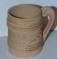 "wooden cup handmade Norway 3"" t"