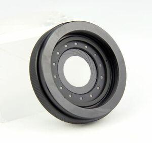 Adjustable 1.5-29mm Iris Diaphragm M42 to M42 Camera Lens Module Adapter Ring