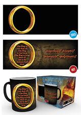 Señor de los anillos anillo único señor de los Anillos Fantasía Película calor Cambio De Té Café Taza Tazas
