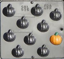 Small Pumpkin Chocolate Candy Mold Halloween  916 NEW