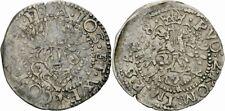 Rudolf II Waldeck Franz Josias Wilhelm Ernst 2 Kreuzer 1588 Halbbatzen Hennig 48