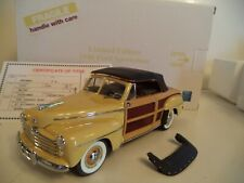 DANBURY MINT FORD SPORTSMAN LIMITED EDITION   1948   IN  BOX