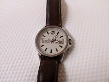 Timberland Wrist Watch TB02AV stainless steel Case Back Leather Watch Strap