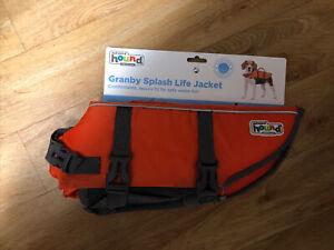 Splash Life Jacket Outward Hound Granby SM Dog (15-30 lbs) & (16-20in Girth) NEW