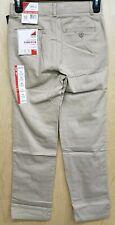 New listing Izod Boys Pants Size 14 Slim Flat Front Tan khaki Beige Nwt New School Uniform