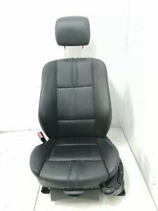 BMW X3 E83 2004-2010 Front Left Passenger Side Black Leather Seat
