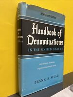 Handbook of Denominations in the United States, New Fourth Edition hc W dj gOOD