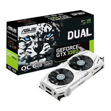 Asus Nvidia GeForce GTX 1060 6GB DUAL OC Edition GDDR5 VR 4K Ready Graphics Card