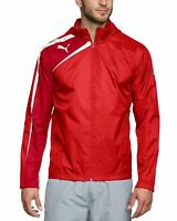 PUMA Spirit Youth Rain Jacket Boys Red Sports Track Top CLEARANCE SALE