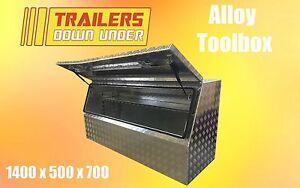 Aluminium Toolbox   Variable Internal Shelf Height   Weather Proof   Flush Locks