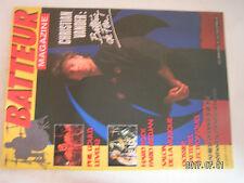 ** Batteur Magazine Novembre 86 / 13e salon de la musique / les bongos