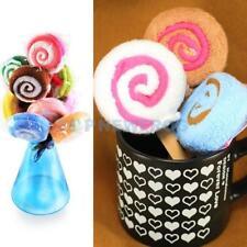Washcloth Towel Gift Lollipop Towel Bridal Baby Shower Wedding Party Favor TN2F
