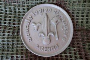 insigne médaille plaque légion étrangère parents amicale