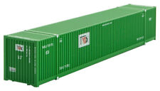 Micro-Trains Mtl N-Scale 53ft Corrugated Shipping Container Tmx (Green) #780725