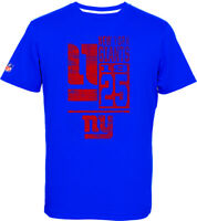 New York Giants T-Shirt Tee,NFL Football,100% BW,Logo,Team,from Majestic