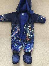 Babies Moschino Snow Suit , Multicolour , 6-9m, Used
