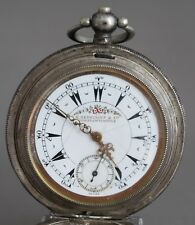 Antique Ottoman Billodes Zenith Silver Pocket Watch  Good Condition