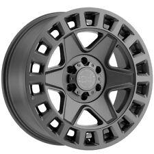 "18"" Inch Black Rhino York 18x8 5x120 +35mm Matte Gunmetal Wheel Rim"
