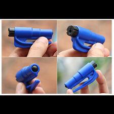 Car Escape Tool Mini Emergency Safety Hammer Keychain Belt Window Breaker Cutter