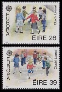 EUROPA 1989 CHILDRENS TOYS GB GUERNSEY IRELAND FRANCE ITALY VARIOUS SETS MNH