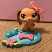 Littlest Pet Shop Dachshund Puppy Dog, #2597  Figure Bundle Lps