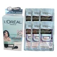 6 x 5ml Loreal Paris Pure Clay Facial Mask Detoxify Deep Clean Skin In 10 Minute