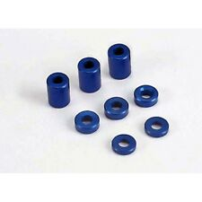 Traxxas 4829 Blue-anodized aluminum spacers (3x6x8mm) (3)/ (3x6x1.5mm) (2)/