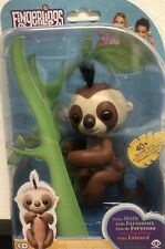 Fingerlings Sloth Kingsley Brown-Interactive Genuine UK Item-Brand New, Free Del