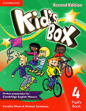 Cambridge KID'S BOX 4 Pupil's Book SECOND EDITION (2015) Prep for MOVERS @NEW@