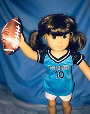 NIP Arianna Touchdown Football Outfit for 18 inch American Girl Doll NEW!