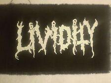Lividity Printed Logo Patch SLOUGH IMPETIGO REPULSION MASTER WACO JESUS MACABRE