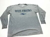 NFL Tennessee Titans Long Sleeve T-shirt Men's Large Logo Athletic