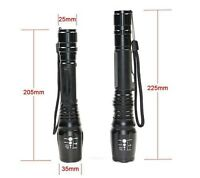 500 lumen SWAT Police Dimmer Zoom LED Flashlight Torch NEW