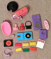 1980s and 1990s Vintage Barbie Electronic Accessories (20 pieces!), Movie Camera