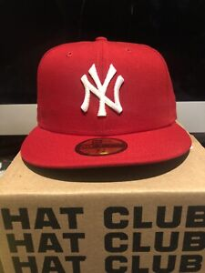 Hat Club Exclusive Gum Pack New York Yankees World Series 1999 Red White 7 3/8