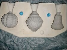 Mayco Textured Ornaments #M-1004 Ceramic Mold, Molds
