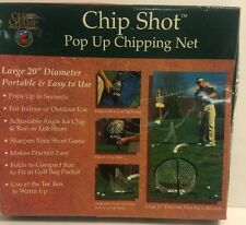 """Club Champ CHIP SHOT Pop Up Chipping Net 20"""" INDOOR/OUTDOOR Golf Training"""