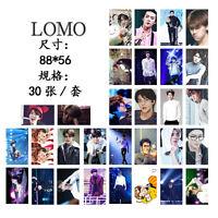 30pcs set Kpop EXO XOXO SEHUN Personal Lomo Card Photocard Poster