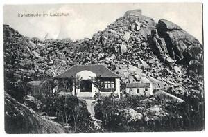 alte AK Tsingtau - Kiautschou /  Irenebaude im Lauschan 1913