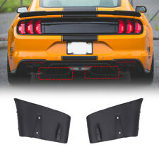 For Ford Mustang GT R 2018-2019 Style Rear Bumper Diffuser Valance Aero Foil