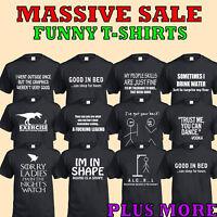 T-Shirt Divertenti Uomo Donna Regalo Natale Abbigliamento Novità