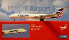 Herpa Wings 1:500 ILYUSHIN IL - 62 M Cubana de Aviacion cu-t1280 529365