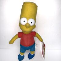 The Simpsons Bart Simpson Plush Toy Factory 2016 15 inches New