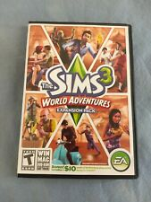 The Sims 3 World Adventures Expansion Pack Original inserts Included PC EA