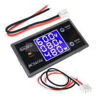 Digital LCD 5/10A Voltage Current Voltmeter Ammeter 50/100V Power Meter Tester