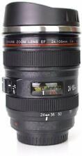 Camera Lens Coffee Mug Cup Tea Travel Photo Insulated Thermos Cup 12 oz.